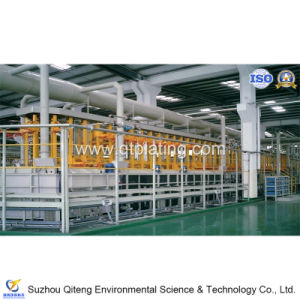 SGS with Intelligent Rotating Head Vertical Lifting Plating Production Line