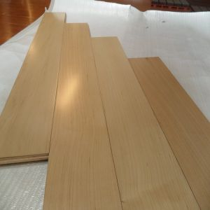 Indoor Usage UV Coating Birch Engineered Wood Floor