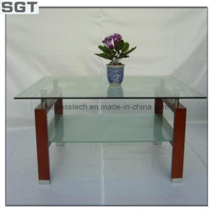 Clear/Supre Clear Float Glass Polished Edges 10mm Table Top or Screen Surface pictures & photos