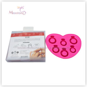 Love Ring-Shaped BPA Free Ice Cube Maker Tray pictures & photos