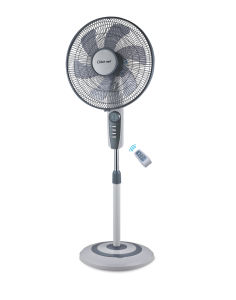 16 Inch 5/6 Blades Round Base Stand Fan with Remote (FS40-EY)