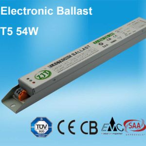 54W High Power Factor Electronic Ballast For T5 Fluorescent Lamp