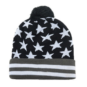 Polyester Knitted Hats Beanies pictures & photos