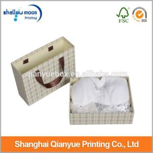 Customized Luxury Wedding Dress Packaging Paper Box with Handle (QYCI15206)