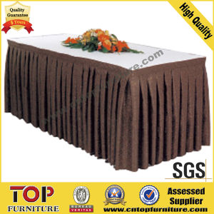 Elegant Meeting Hall Table Cloth pictures & photos