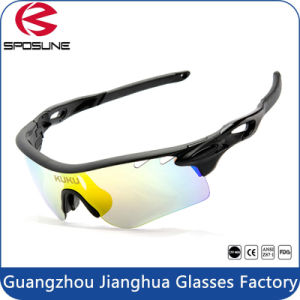 12 Color Optional Big Promotion Men Sunglasses 2016 Popular Cycling Bicycle Sun Glasses pictures & photos