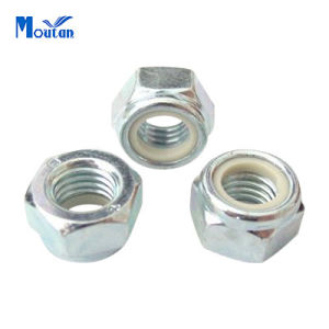 Carbon Steel Zinc Plated DIN982 Nylon Lock Nuts