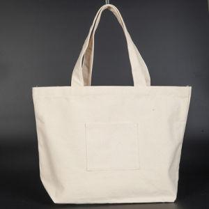 Plain Logo Printed Whole Ping Bag Cotton Custom Canvas