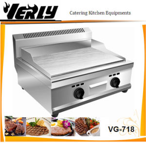 Luxury Commercial 430stainless Steel Full Flat Gas Griddle (VG-718)