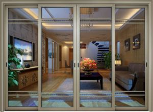 Strong Aluminum Bi Fold Window, Bi Folding Window (CL-W1018) pictures & photos