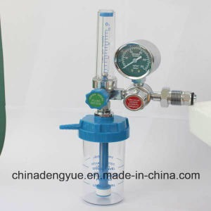 Bull Nose Type Oxygen Regulator with Flowmeter pictures & photos