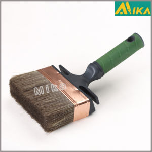 Bent Rubber Plastic Handle Wall Paint Brush
