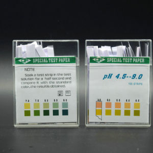 pH Strip 0-14 /Rapid Diagnostic Test Kit/Urine Strip/pH Test pictures & photos