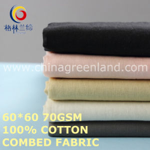 100 Cotton Combed Fabric for Man′s Clothes Textile (GLLML478) pictures & photos
