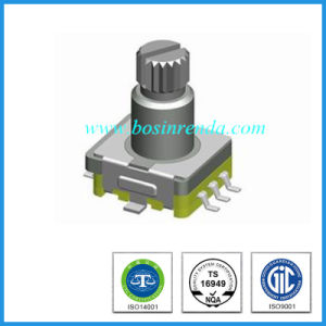 11mm Size Car Audio Reset Rotary Volume Switch pictures & photos