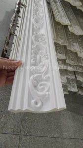 Carving PU Crown Moulding for Ceiling Decoration