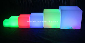 Trasparent LED Bar Stool for Club Furniture (LL-BC046) pictures & photos