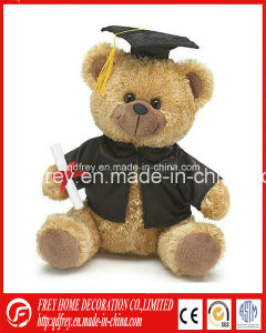 Cute Plush Graduation Bear for Souvenir pictures & photos