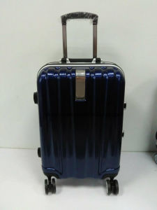 "Factory Low MOQ PC Material 20""24""28"" Universal Wheels Travel Rolling Luggage Suitcase, Customized OEM Trolley Case"