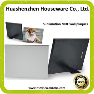 High Quality of Sublimation MDF Plaque with Factory Price