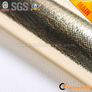 PP+PE+Pet Golden Nonwoven Fabric Lamination pictures & photos