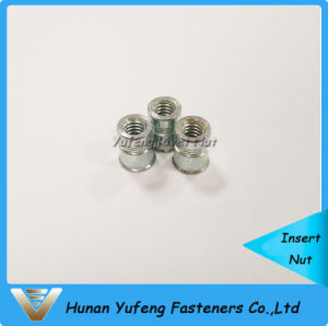 Zinc Plating Embedded Rivet Nut pictures & photos
