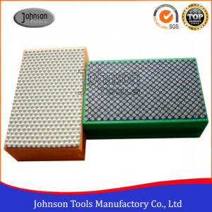 Diamond Hand Polishing Pads with Resin and Electroplated Type pictures & photos
