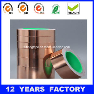 25mm/50mm Width, 50m/Roll EMI/Rfi Shielding Copper Foil with Adhesive Tape pictures & photos