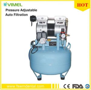 30L Dental One-Driving-One Oilless Air Compressor Low Noise 52dB (A) pictures & photos
