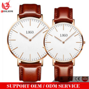 Yxl-133 Fashion Genuine Leather Watch Mens Good quality Quartz Wrist Watch Luxury Waterproof Vogue Watches pictures & photos
