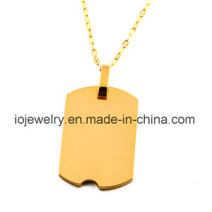 Medical Alert Pendant 316 Stainless Steel Surgical Jewelry pictures & photos