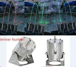 2016 New Type Laminar Jumping Jet Fountain Nozzle