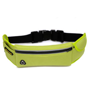 Waterproof Neoprene Sports Waist Bag Jogging Bag with Reflective Strip pictures & photos