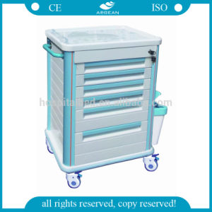 AG-Mt006 ABS Cheap Mobile Medical Cart for Sale pictures & photos