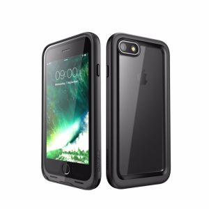 Wholesale Price OEM Reinforced Rubber Bumper TPU Case Water-Proof Snow-Proof Cell Phone Case for iPhone 7 Plus