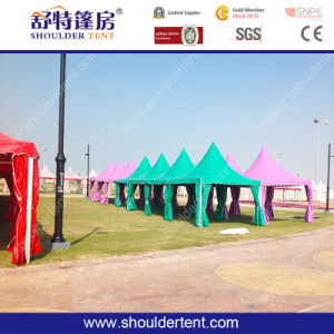 Colorful 9X6m Aluminum Marquee Pagoda Tent for Party pictures & photos