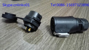 Lp-16 Type Connector with High Quality Performance/ Waterproof Power and Signal Connector pictures & photos