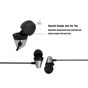 Wired Earbuds Stereo Headphones In Ear Headphones with Microphone pictures & photos
