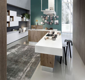 2017 Lacquer Paint MDF Kitchen Cabinet