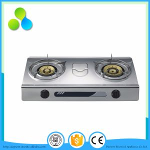 Simple Design Stainless Steel Table Gas Stove. Cooker