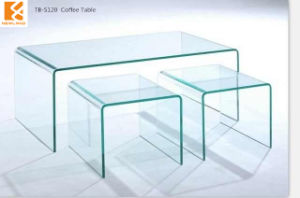 Home Furniture of Glass Coffee Table (TB-S120)