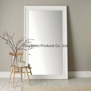 White Full Length Floor Free Standing