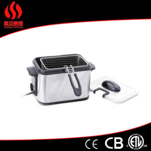 Fh-8015c Cookware Stainless Steel Body Deep Fryer