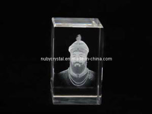 Guru Gobind Singh Ji Statue in Crystal for Sikh Souvenir pictures & photos