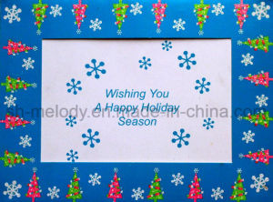 Special Glittered Holiday Card/ Greeting Card/Birthday Card pictures & photos
