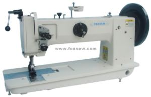 Long Arm Flat Bed Compound Feed Sewing Machine pictures & photos