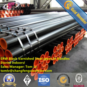 Exteral 3lpe Coated and Internal Epoxy Coated ERW Carbon Steel Pipe pictures & photos