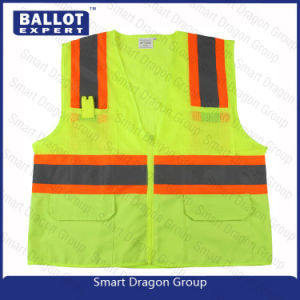 Custom Wholesale Reflective Safety Security Vest