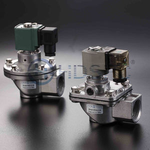 Right Angle Pulse Valve Stainless Steel Valve