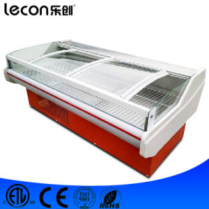 Seafood Showcase Refrigerator for Supermarket